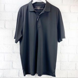 "Greg Norman ""Schindler"" Play Dry Golf Polo Shirt"